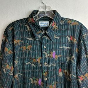 Men's Shop horse shirt size large